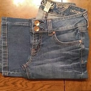 """Refuge Pop Starlet flare jeans inseam 32"""""""
